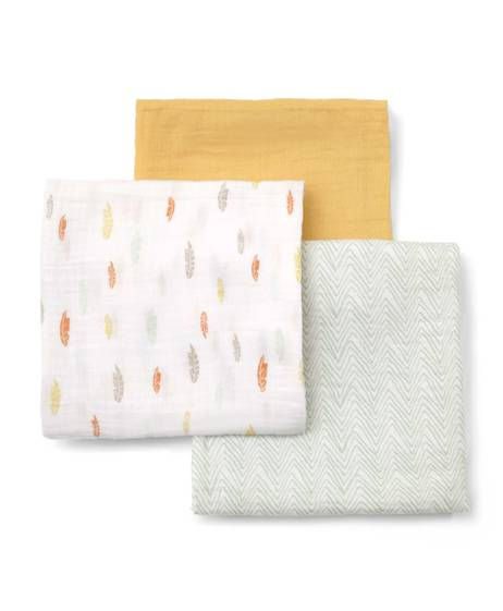 Large Muslin Squares (3 Pack) - Multi