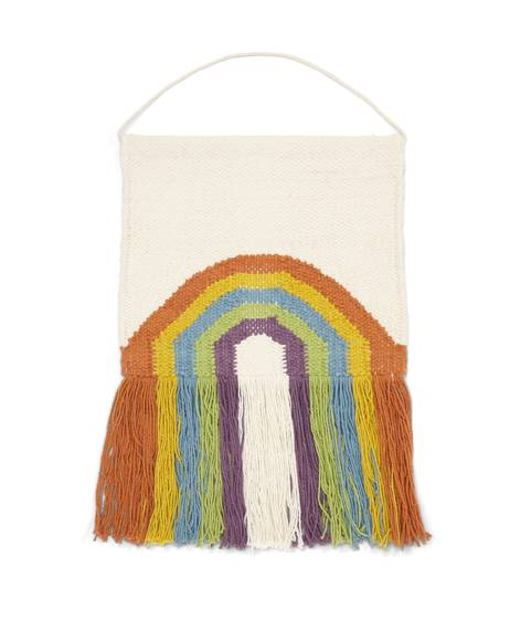 Rainbow Macrame Wall Art - Multi