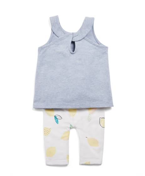 Easy Peasy Lemon Vest & Leggings Set
