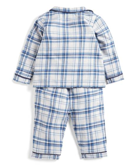 Blue Check Pyjamas