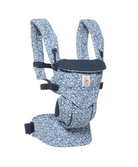 Ergobaby Omni 360 All-in-One Ergonomic Baby Carrier - Batik Indigo