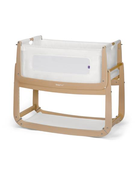 SnuzPod³ Bedside Crib - Natural