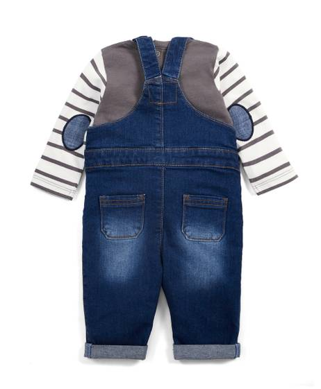 Tee and Dungaree Set - 2 Piece