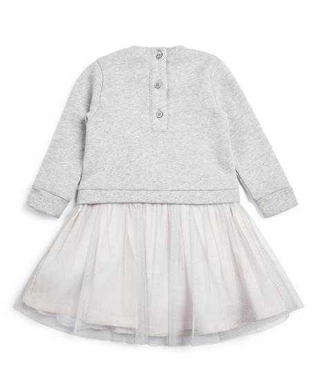 Mock Tutu Skirt Dress