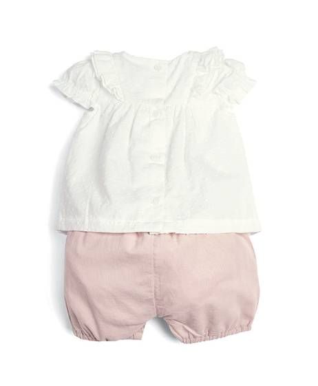 Blouse & Bloomers - 2 Piece Set