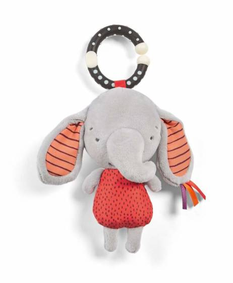 Elephant Linkie Activity Toy