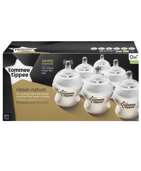 Tommee Tippee Closer to Nature 6 x 150ml