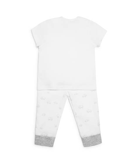 Elephant Jersey Pyjamas - 2 Piece Set
