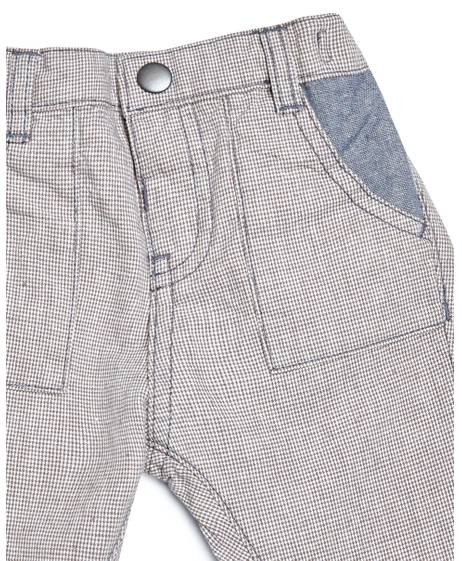 Woven Check Trousers