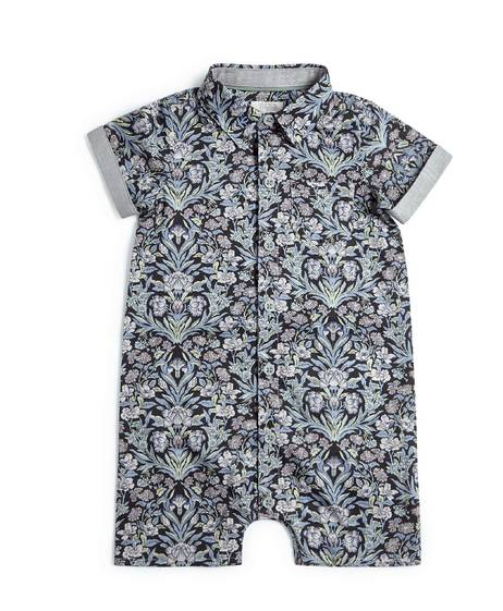 Liberty London Sea Grass Print Romper