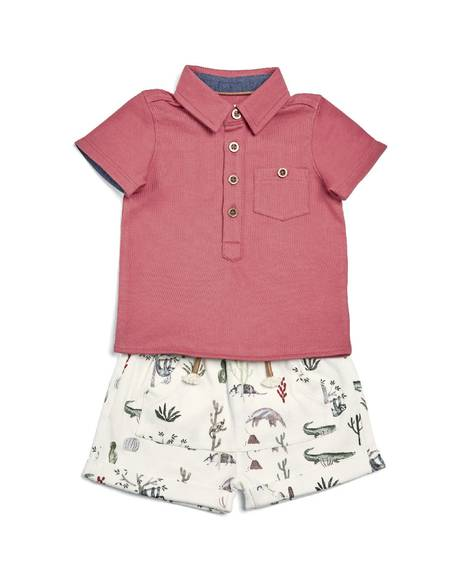 Polo & Shorts - 2 Piece Set