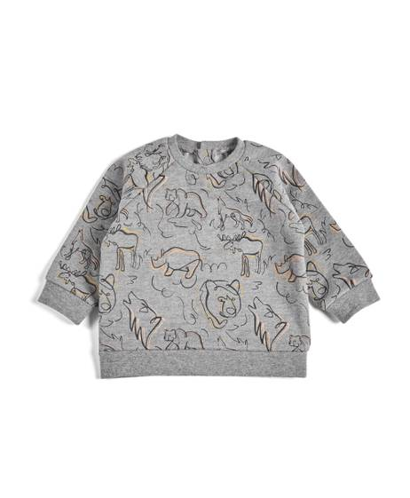 Printed Bear Sweatshirt