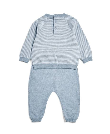 2 Piece Hello World Knit Set