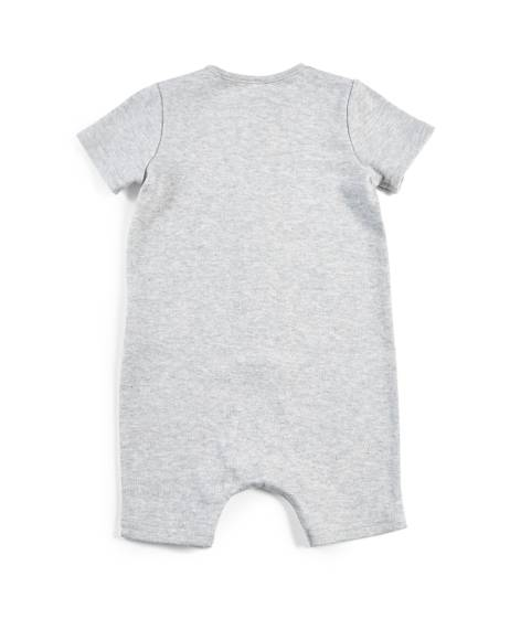 Grey Shortie Romper