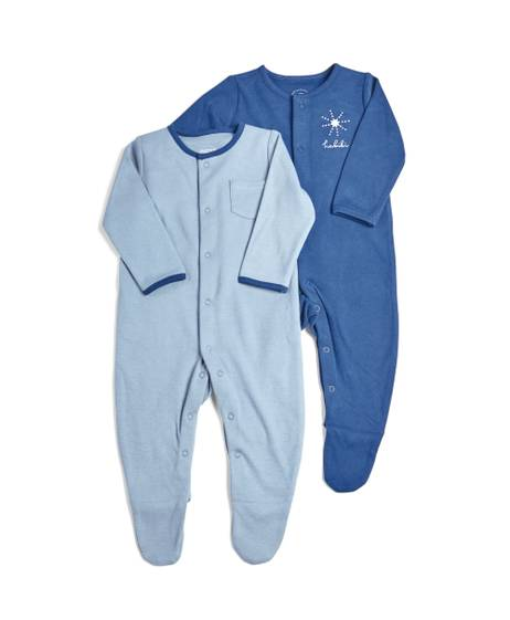 6 Piece Blue Clothing Set