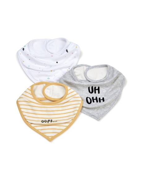 3 Pack Contemporaryorary Bibs