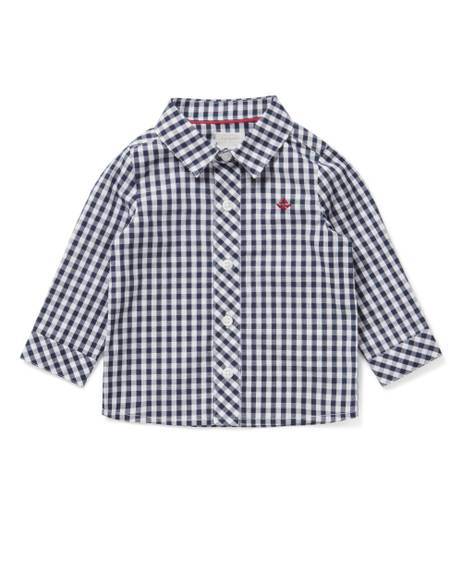 Check Shirt Navy