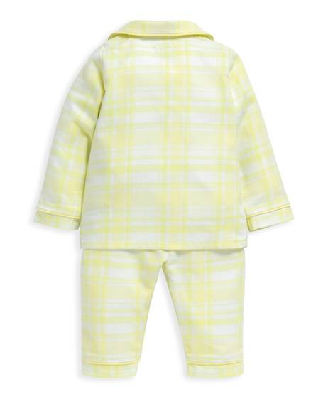 Yellow Check Pyjamas