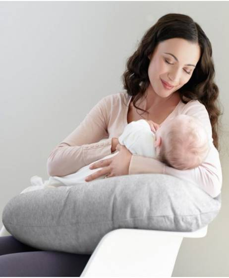 Nursing Pillow - Grey Marl