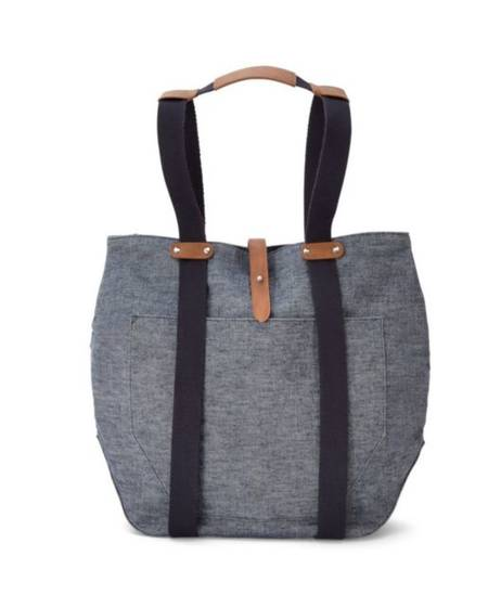 Chrissi Changing Bag - Blue Denim