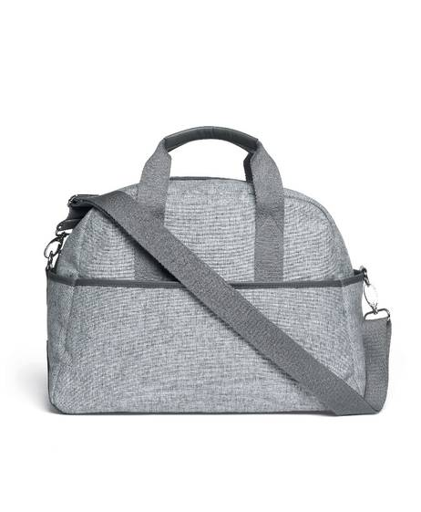 Bowling Style Changing Bag with Bottle Holder - Skyline Grey