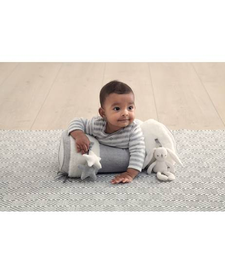 My First Tummy Time Activity Toy - Grey/White