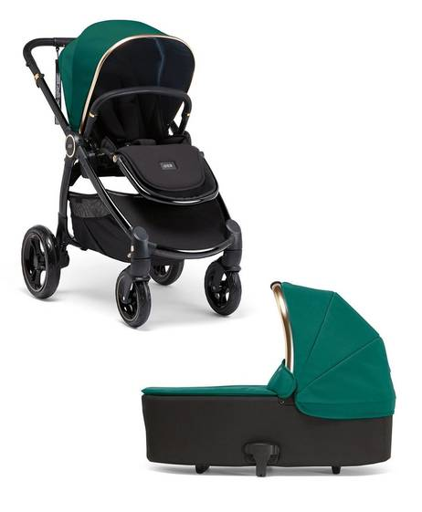 Ocarro Signature Jewel Collection 2 Piece Pushchair Bundle - Emerald