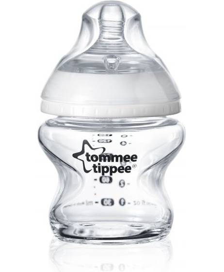 Tommee Tippee 1X 150ML Glass Bottle
