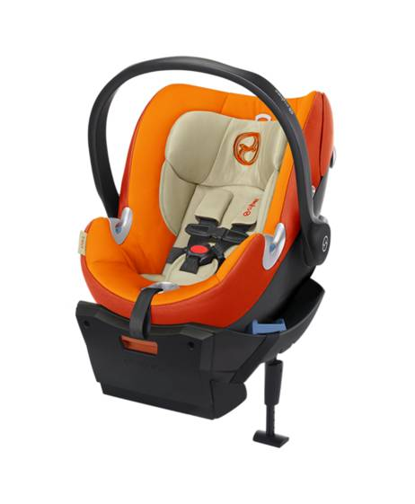 Aton Q Car Seat - Autumn Gold with ISOFIX base - Black