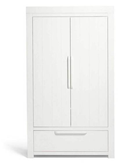 Franklin Wardrobe - White Wash