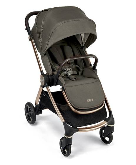 Strada Pushchair with Carrycot - Olive Bronze