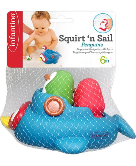 INFANTINO SQUIRT'N SAIL PENGUINS