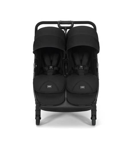 Armadillo Twin Folding Pushchair - Black Jack