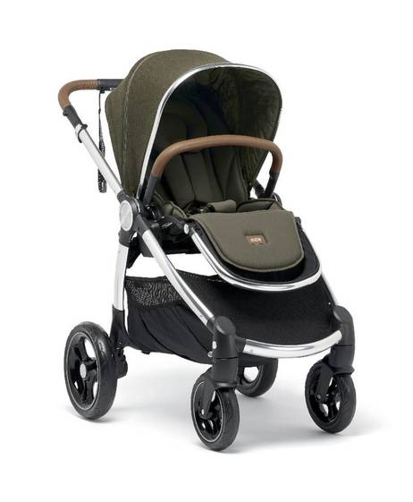 Ocarro Stroller with Carrycot - Khaki Explorer