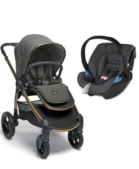 Ocarro Stroller - Simply Luxe with Aton XXL Comfy Grey