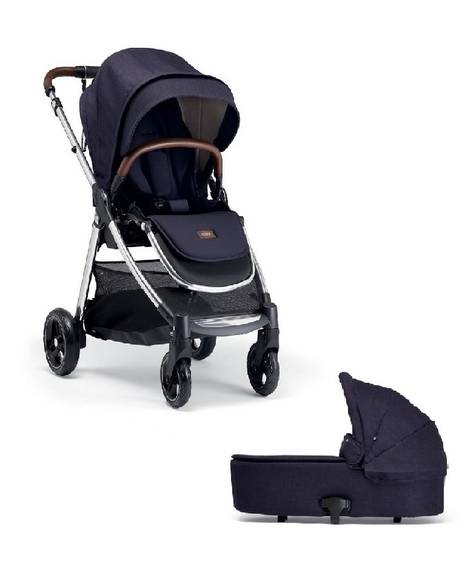 Flip XT3 Puschair with Carrycot - Dark Navy
