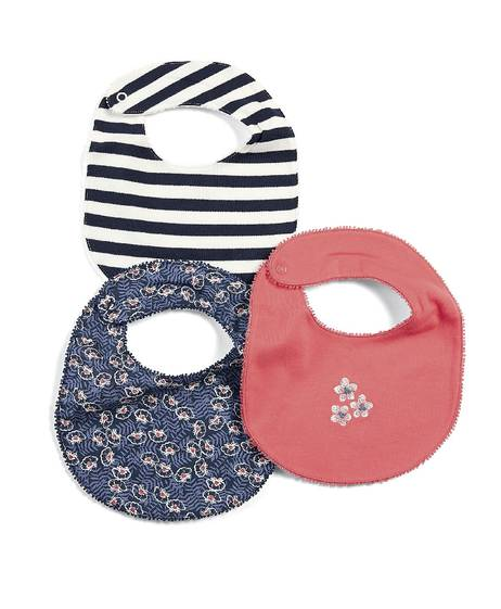 Printed Bibs (Set of 3)