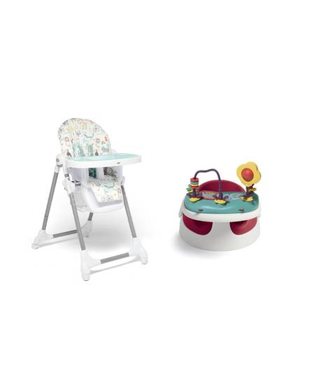 Baby Snug - Red & Snax Highchair - Safari
