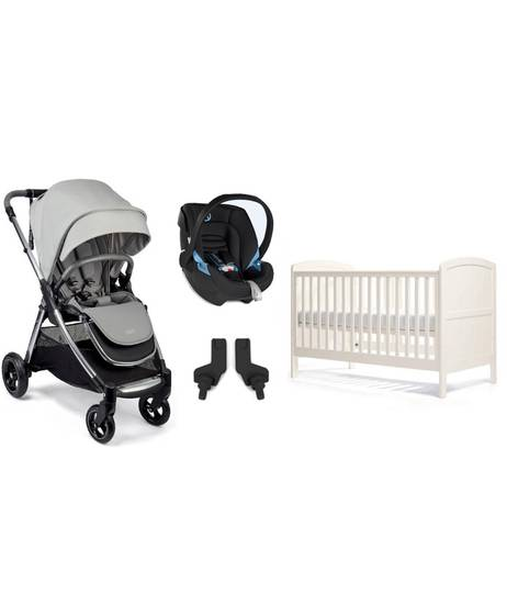 Newborn Essentials Pack with Black Aton Car Seat
