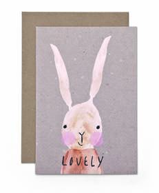 Lovely Bunny - Card