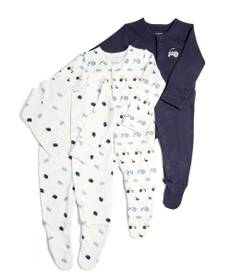3 Pack of Farm Sleepsuits